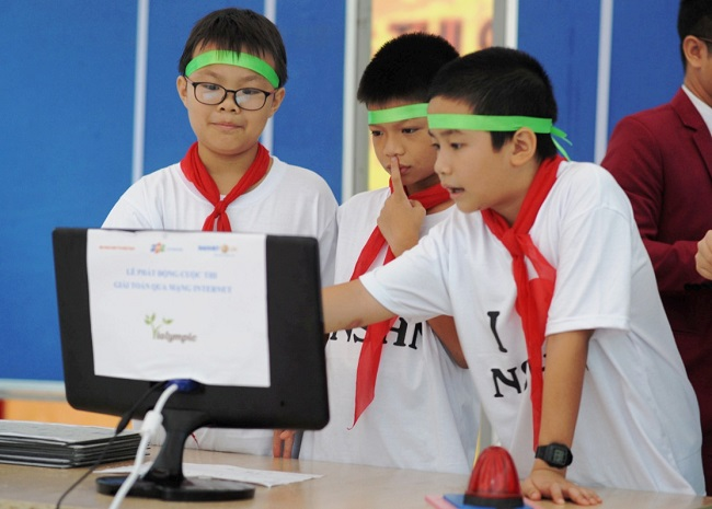 Giúp học sinh tiểu học làm tốt Violympic